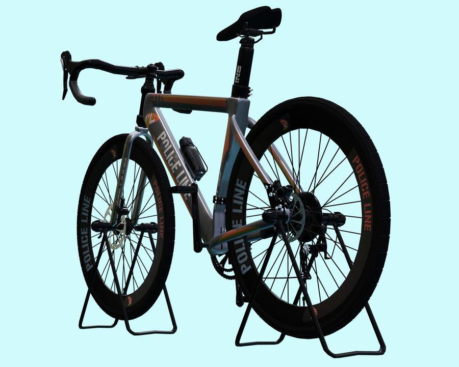 Bicyle Road Bike royalty-free 3d model - Preview no. 6
