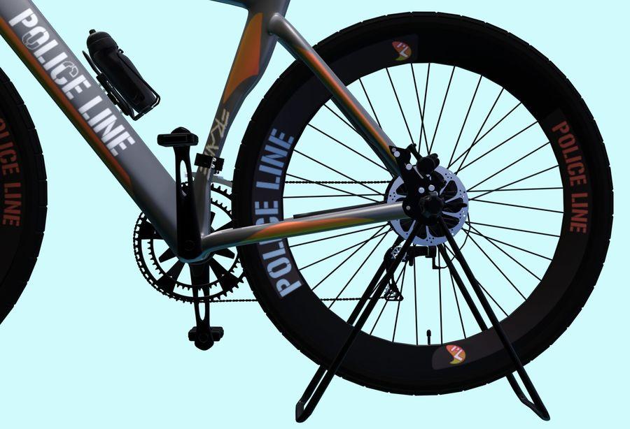 Bicyle Road Bike royalty-free 3d model - Preview no. 9
