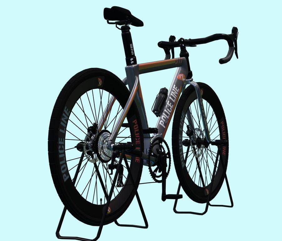 Bicyle Road Bike royalty-free 3d model - Preview no. 5