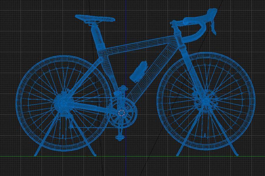 Bicyle Road Bike royalty-free 3d model - Preview no. 18