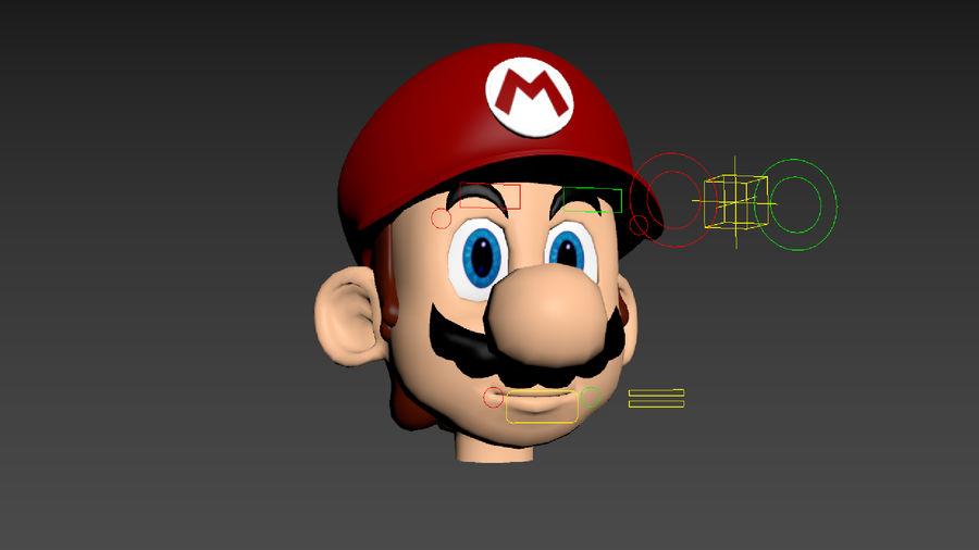 Süper Mario Karakter Arma royalty-free 3d model - Preview no. 19