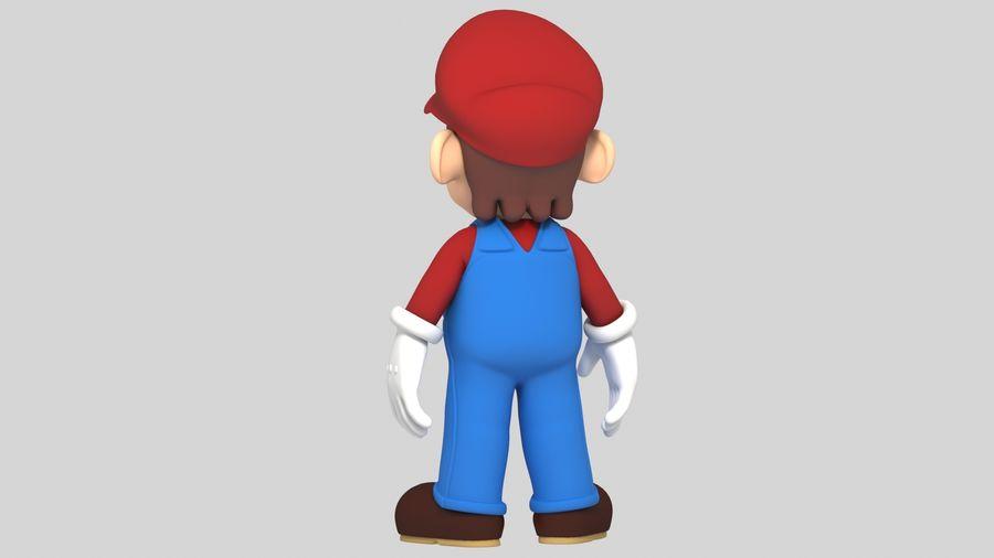 Süper Mario Karakter Arma royalty-free 3d model - Preview no. 9