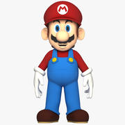 Super Mario Character Rigged 3d model