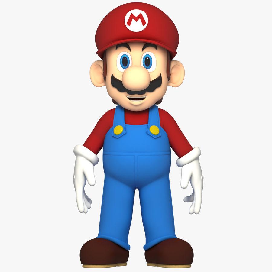 Süper Mario Karakter Arma royalty-free 3d model - Preview no. 1