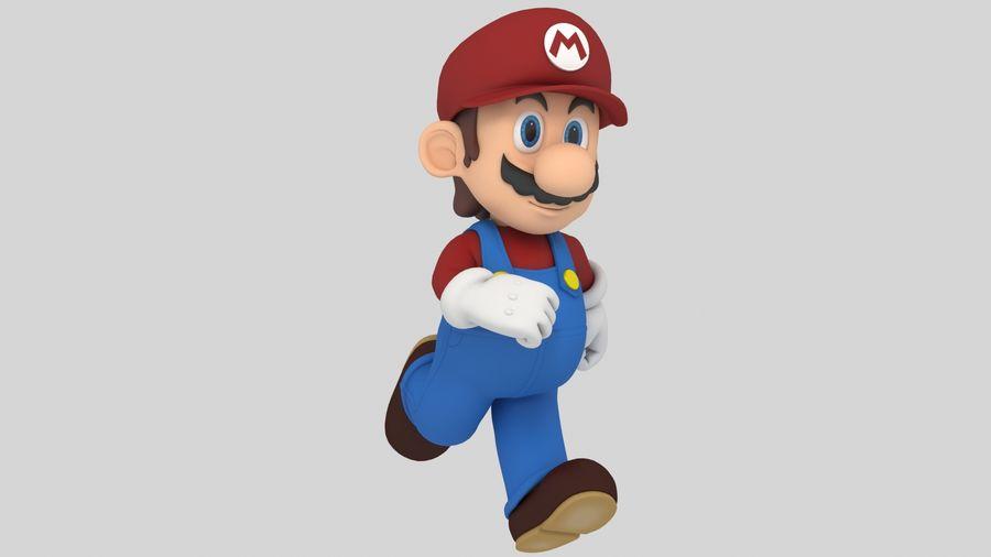 Süper Mario Karakter Arma royalty-free 3d model - Preview no. 5
