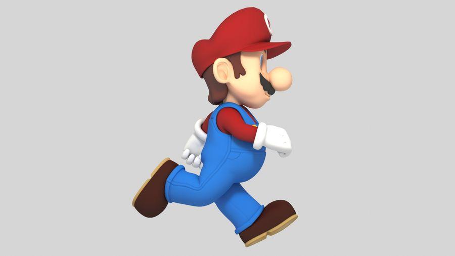 Süper Mario Karakter Arma royalty-free 3d model - Preview no. 3