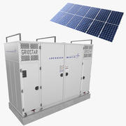 GridStar Energy Storage Solutions 3d model
