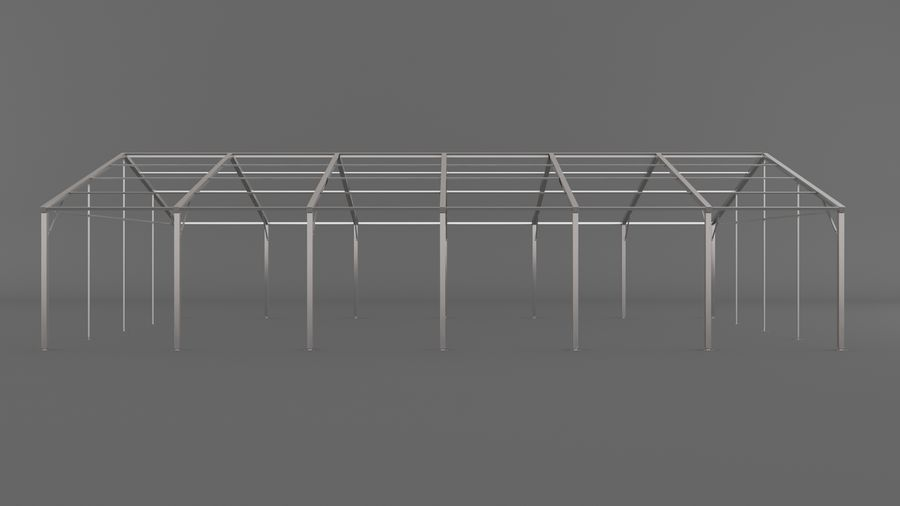 Event Tent V3 royalty-free 3d model - Preview no. 7