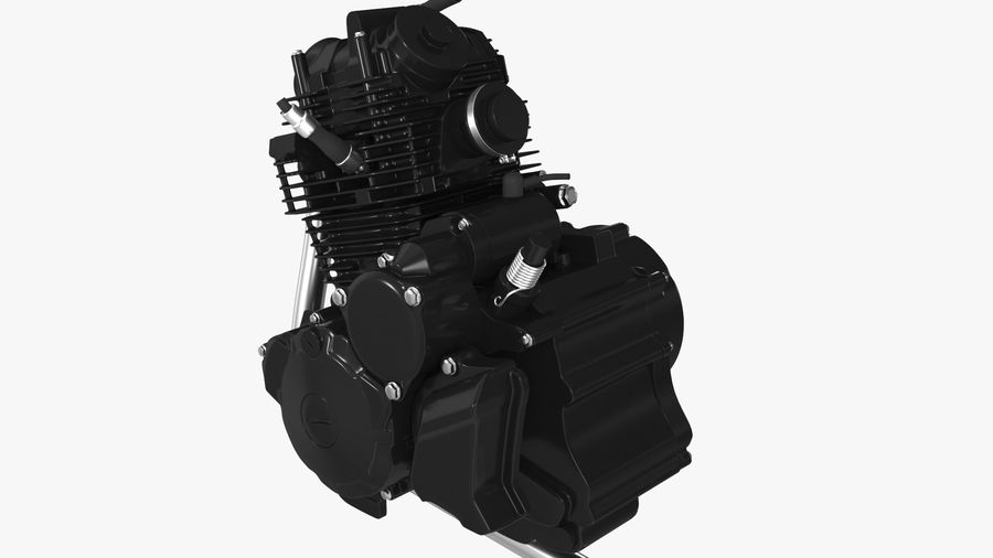 MOTOR MOTOR royalty-free 3d model - Preview no. 8