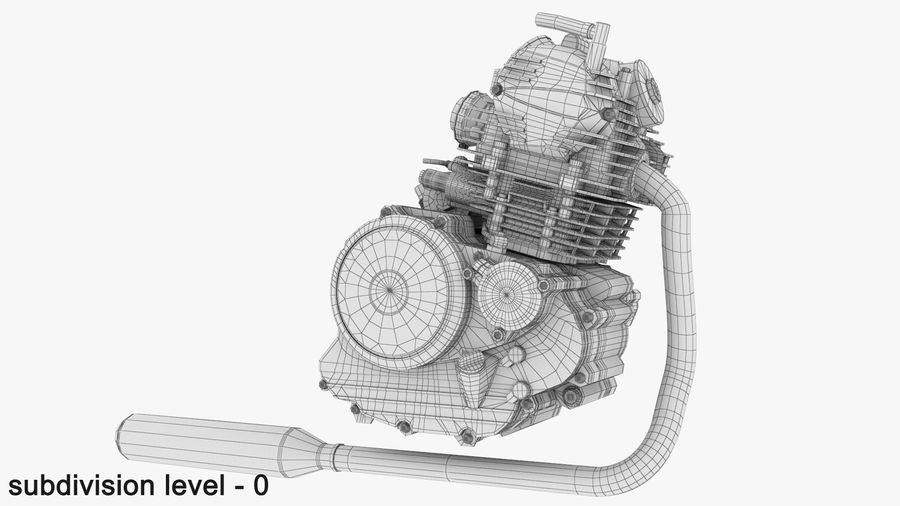 MOTOR MOTOR royalty-free 3d model - Preview no. 5