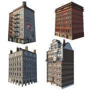 Pack (1) Gebouwen 3d model
