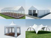 Event Tents 4 3d model