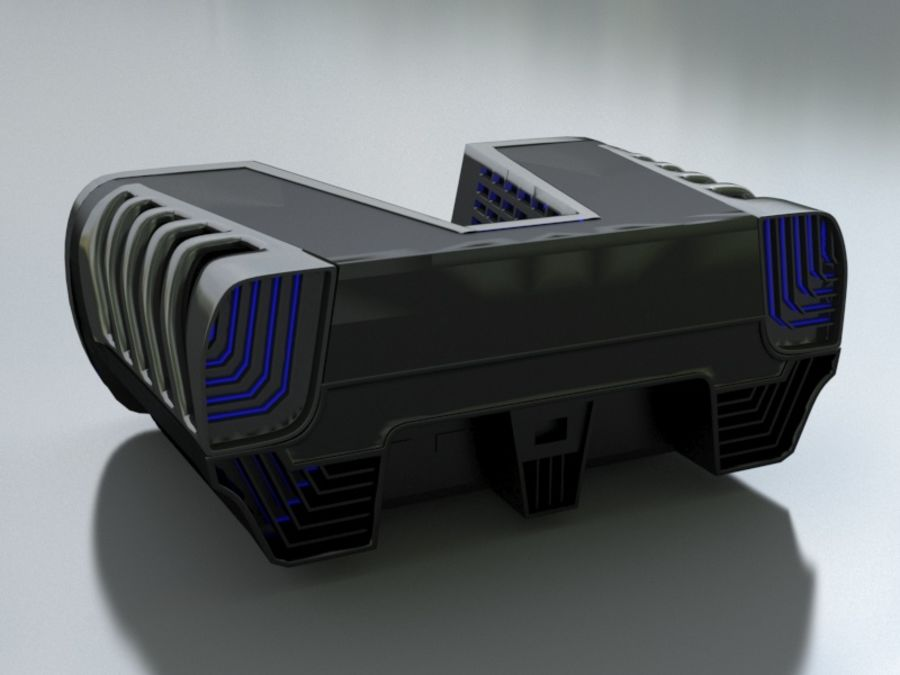 ps5 royalty-free 3d model - Preview no. 3