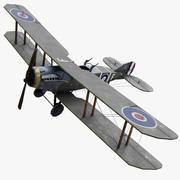 Bristol F2B WW1 3d model