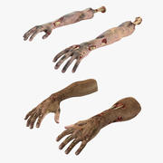 Kolekcja Zombie Hands 3d model