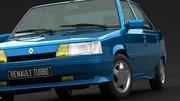 雷诺11 Turbo 3d model
