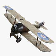 Sopwith骆驼WW1 3d model