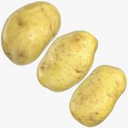 Ren potatissamling 02 3d model