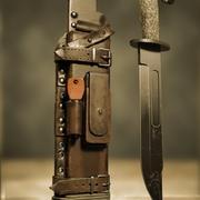 Fondina per coltello 3d model