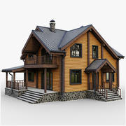 GameReady Cottage 9 3d model