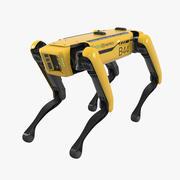 Rigged Boston Dynamics Spot Robot Dog 3d model