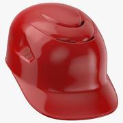 Baseball Catcher Helmet 3d model