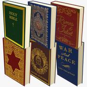 Klasik Kitaplar Koleksiyonu 3d model