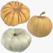Pumpkins Collection 02 3d model