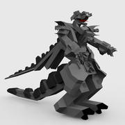 Robot Dragon Tail 3d model