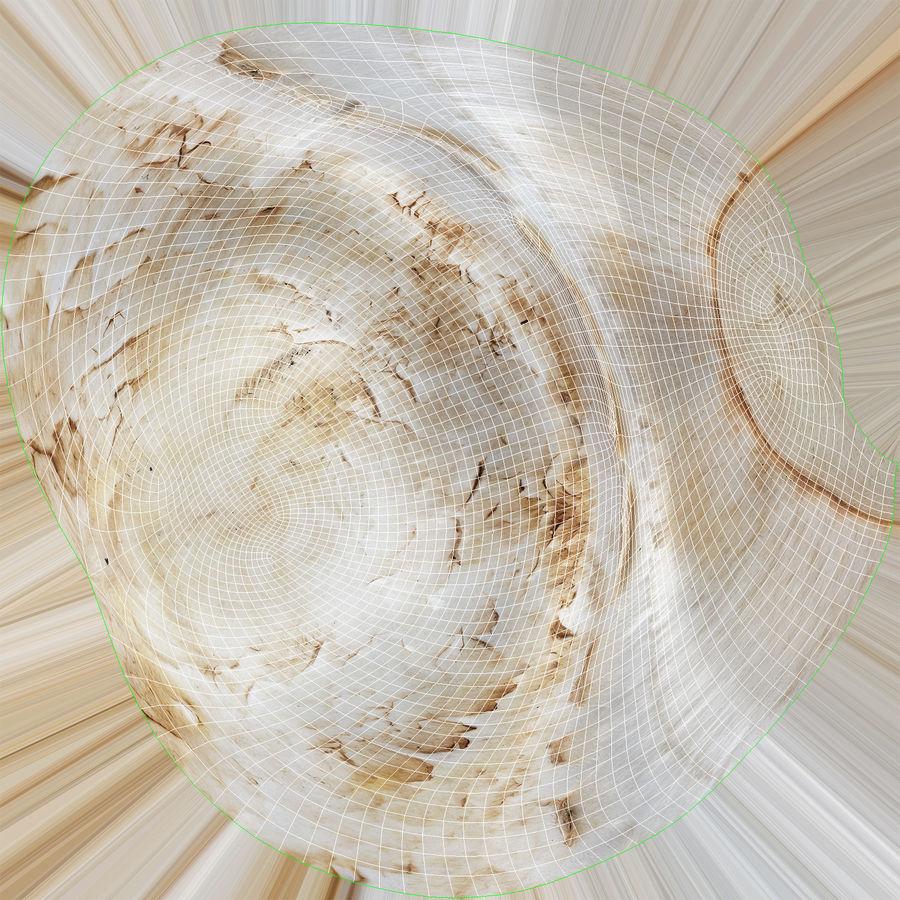 Pilzsammlung mit weißen Knöpfen 02 royalty-free 3d model - Preview no. 29