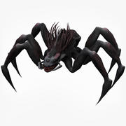 蜘蛛怪兽 3d model