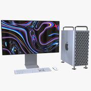 Mac Pro 2019 Set 3d model