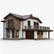 GameReady Cottage 10 3d model