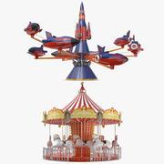 Twee Carrousel Collectie 3d model