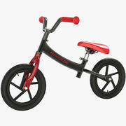 Balance Bike Kid 3d model