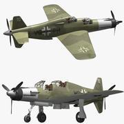 Dornier Do 335 Pfeil modelo 3d