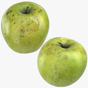 Granny Smith Apples Collection 03 3d model