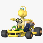 Mario Kart Tour - Koopa Troopa Pipe Frame 3d model