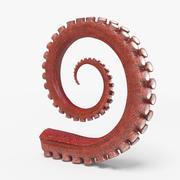 Tentacles (Rigged) 3d model