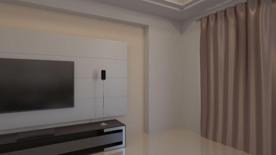 Modernes Interieur royalty-free 3d model - Preview no. 16