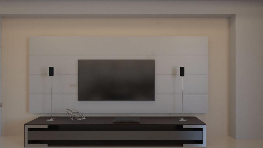 Modernes Interieur royalty-free 3d model - Preview no. 27