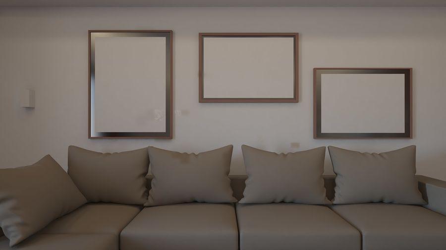 Modernes Interieur royalty-free 3d model - Preview no. 21