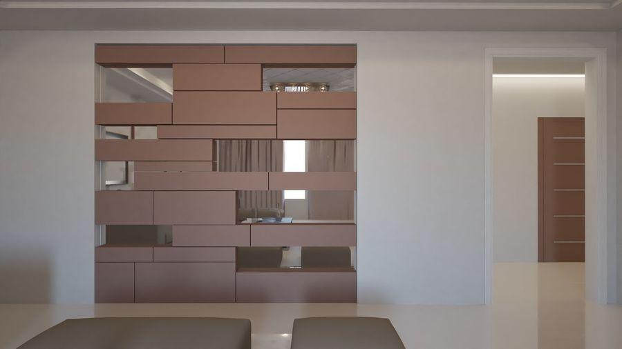 Modernes Interieur royalty-free 3d model - Preview no. 24
