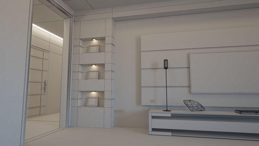 Modernes Interieur royalty-free 3d model - Preview no. 7