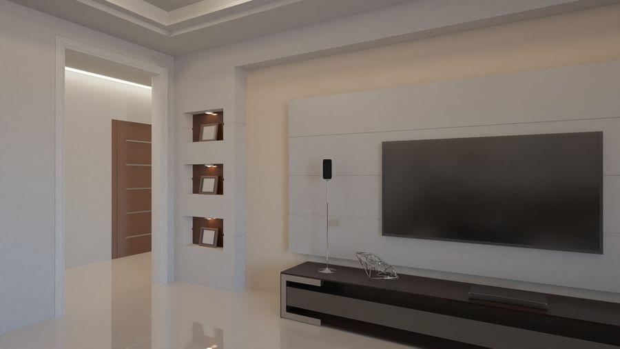 Modernes Interieur royalty-free 3d model - Preview no. 26