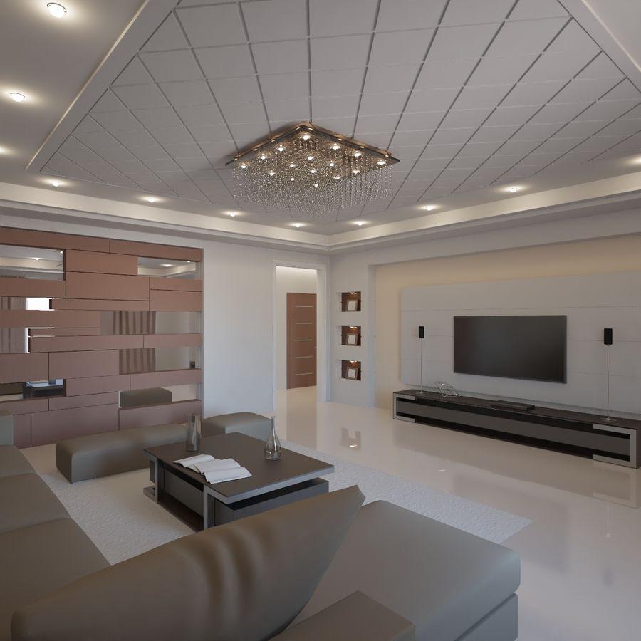 Modernes Interieur royalty-free 3d model - Preview no. 1