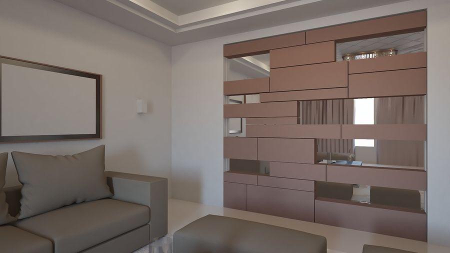Modernes Interieur royalty-free 3d model - Preview no. 23
