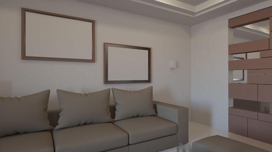 Modernes Interieur royalty-free 3d model - Preview no. 22