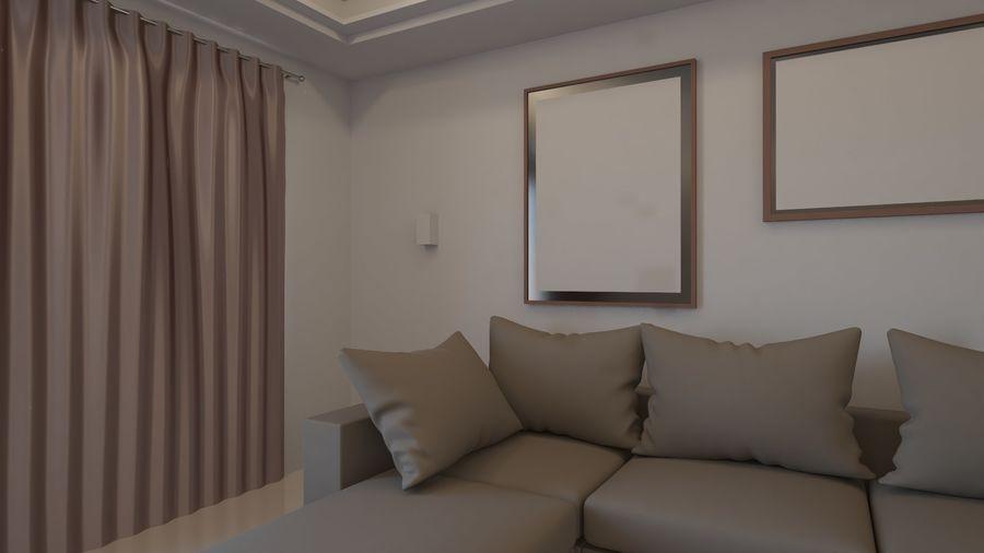 Modernes Interieur royalty-free 3d model - Preview no. 20