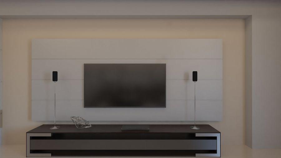 Modernes Interieur royalty-free 3d model - Preview no. 15